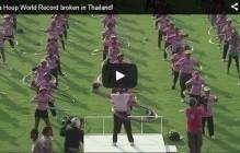 La Thaïlande bat le record du monde de hula hoop
