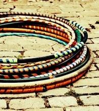 Types de hula hoops