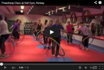 Cours de hula-hoop en Norvège