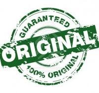 Produits originaux seulement