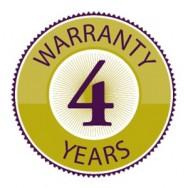 4 ans de garantie